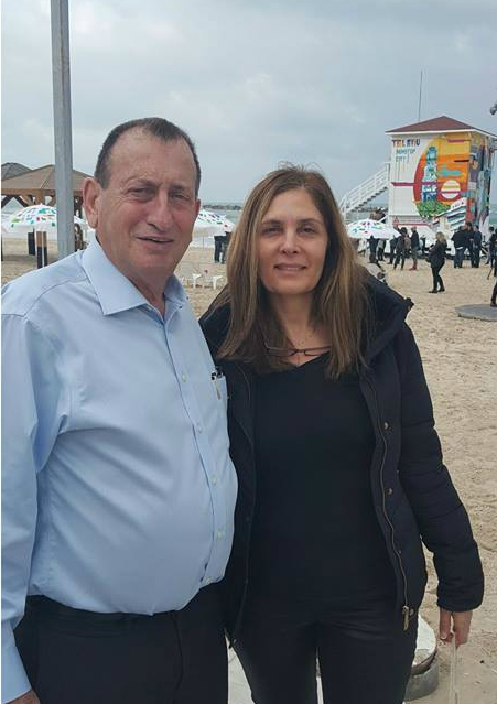 עם ראש העיר מר רון חולדאי